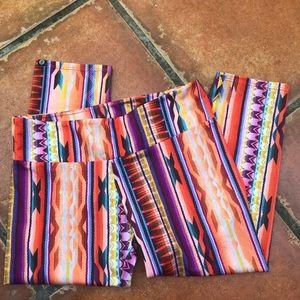 Onzie Charlie tribal print leggings! Worn once